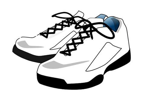 tennis shoes clip at clker vector clip