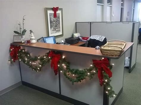 office table christmas decorating ideas 60 office decorations to spread the festive cheer at work place