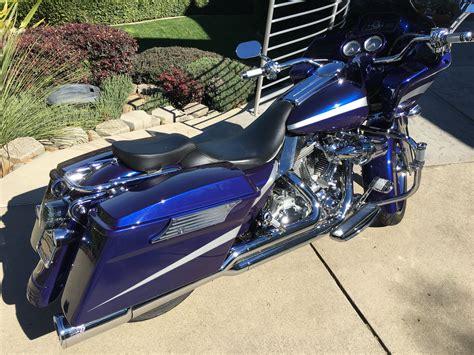 2007 harley davidson 174 fltrx road glide 174 custom custom paint blue silver springs