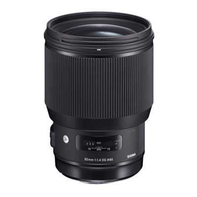 sigma 85mm f1.4 art dg hsm lens | uk camera ltd