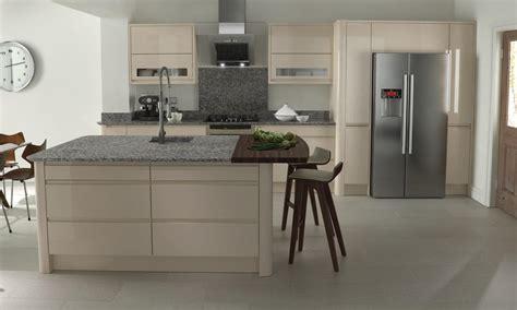 pictures of kitchens modern beige kitchen cabinets remo handless beige gloss kitchen interior designs north