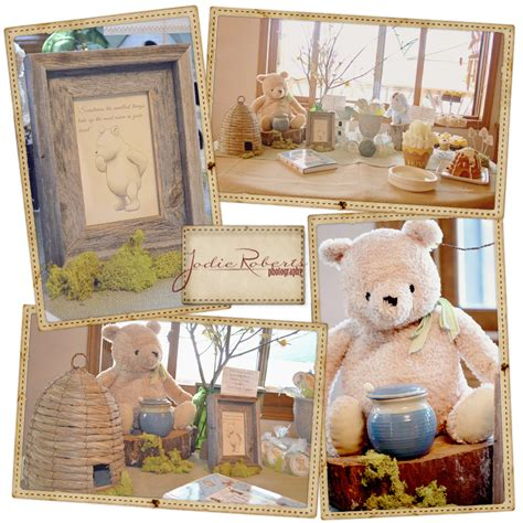 Classic Winnie The Pooh Baby Shower Ideas by Jodie Photography Classic Winnie The Pooh Baby Shower