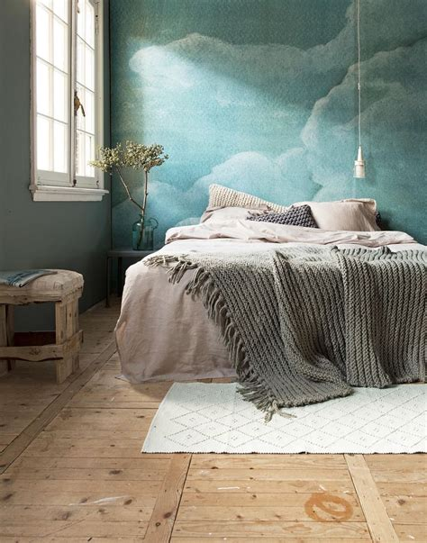 cloud bedroom wallpaper 15 soothing bedrooms that take inspiration from the clouds
