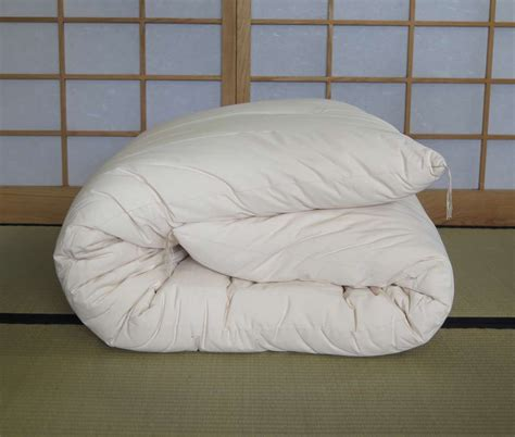single organic futon with organic cotton cover japanese
