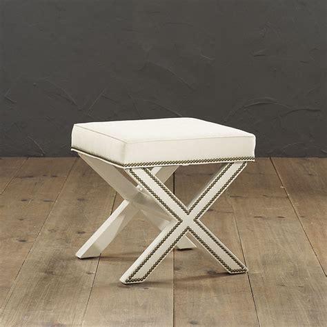 ballard bench fork work detail ballard design upholstered bench