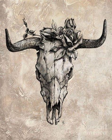 cow skull tattoo designs best 20 skull design ideas on bright