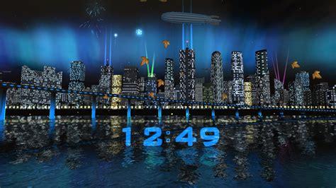 day night city fireworks lwp   wallpaper