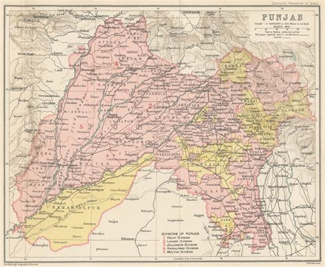 map of punjab marxist undivided punjab