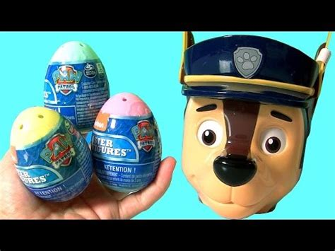 Paw Patrol Eggs Isi 4 new paw patrol easter egg with rubble and mashems by toys club