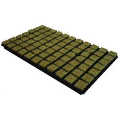 Rockwool Cultilene Uk 25 X 15 X 7 5 Cm Media Tanam Hidroponik 1 4 Slab cultilene rockwool 150 one inch 25mm cubes in a tray