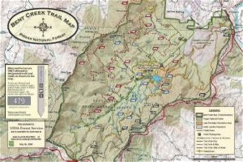 new bent creek trails map available