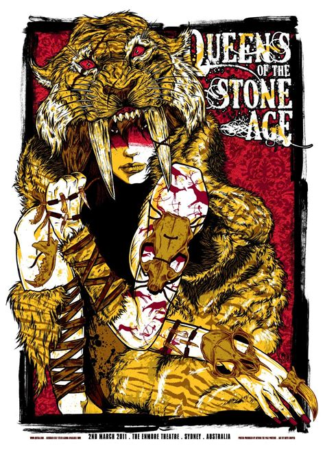 Plakat Queens Of The Stone Age by Qotsa Queens Of The Stone Age Plakat Poster Bullsh Ft