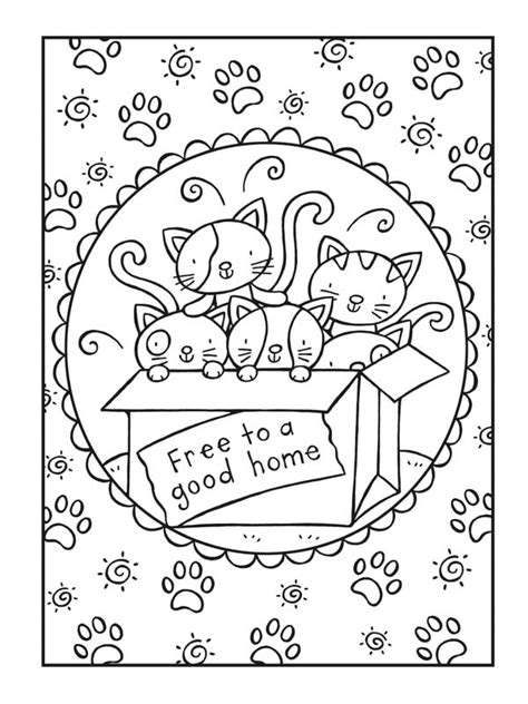 Cool Cats Coloring Book