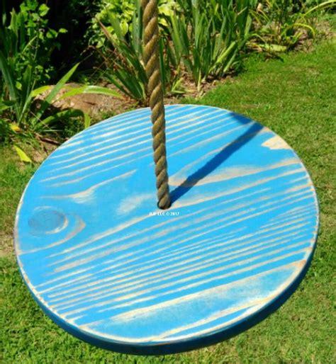 wooden disc swing distressed disc wooden swings