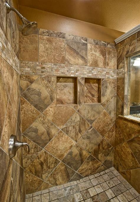 rustic master bathroom with frameless showerdoor zillow digs zillow