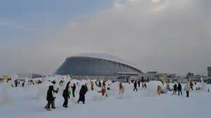 With its 200 inches of snow annually sapporo is one of the snowiest