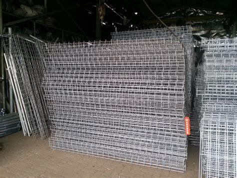 Kerangkeng Ac pabrikasi pagar brc produksi pagar brc dip