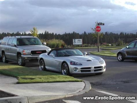 dodge bend oregon dodge viper spotted in bend oregon on 12 26 2005