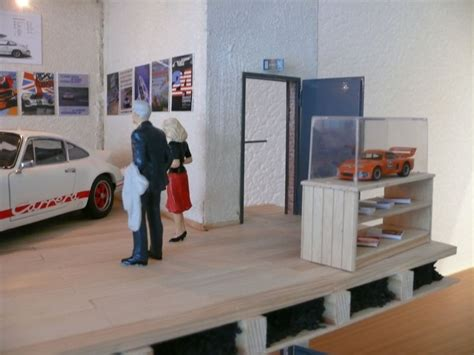 Regal Unter Treppe 174 by Bauprojekt Diorama Privates Porsche Museum Mit Museums