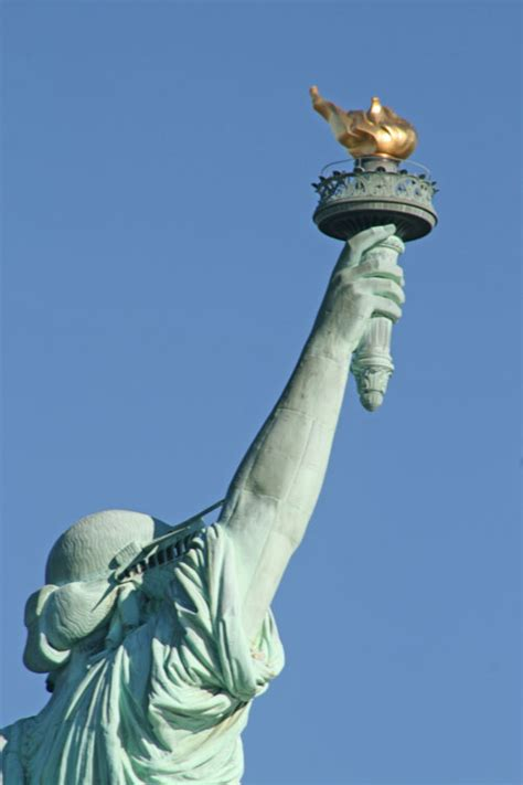 statue of liberty arm with torch anecdotes antidotes and anodes