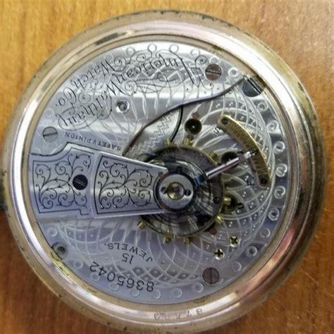 elgin hamilton illinois waltham pocket serial