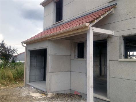 Porche De Maison by Cr 233 Ation Du Porche Et Couverture De L Avanc 233 E De Garage