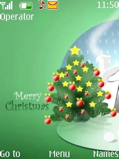themes christmas for mobile download merry christmas nokia theme mobile toones
