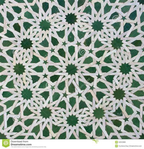 Bathroom Tiling Ideas Moroccan Zellige Tile Pattern Stock Photo Image 32653886