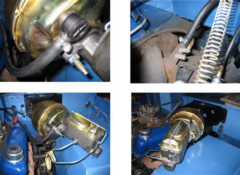"""no modify"" power brake kit for early bronco toms bronco"
