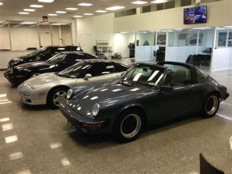 old car owners manuals 1989 porsche 911 interior lighting find used 1989 porsche 911 targa in immaculate condition blue with blue leather interior in