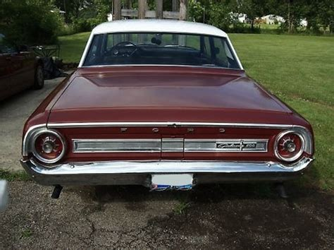 vintage burgundy 1964 galaxie paint cross reference