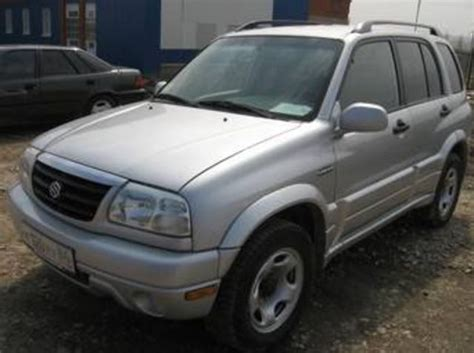 Problems With Suzuki Grand Vitara 2002 Suzuki Grand Vitara Pictures
