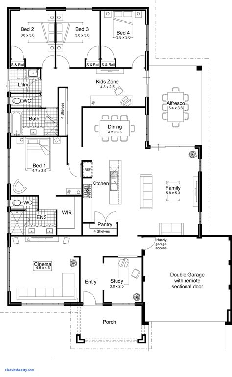inspirational simple open floor plans home design