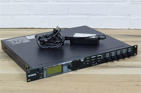 yamaha motif xs rack keyboard synth sound module mint
