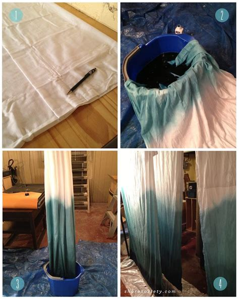 ombre curtains diy 17 best images about curtain ideas on pinterest muse