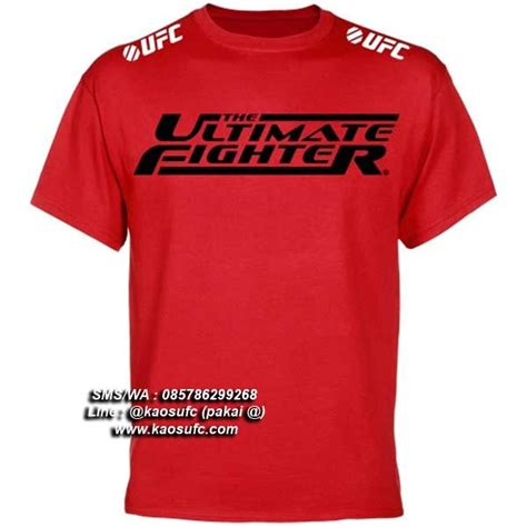 T Shirt Kaos Fighter by Jual T Shirt The Ultimate Fighter Sms Wa 085786299268