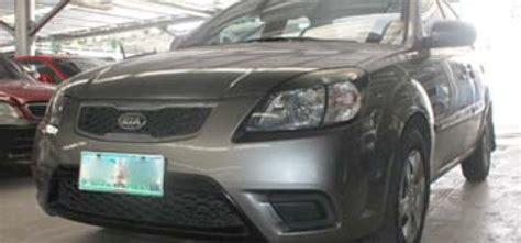 airbag deployment 2010 kia rio transmission control kia rio 2010 car for sale central visayas