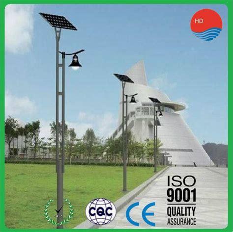format factory high quality factory high quality 20w solar garden lighting pole light