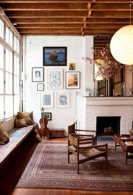 Living Room With White Brick Fireplace 38 Awesome Whitewashed Fireplace Designs Digsdigs