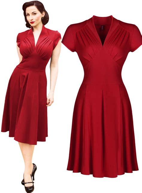 1940s swing dress free shipping women s vintage style retro 1940s shirtwaist
