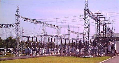 layout gardu induk jaringan distribusi tenaga listrik