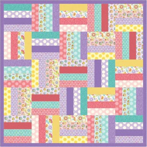 How To Make A Crib Quilt by Jelly Roll Crib Or Quilt By Sheilachristensen Craftsy