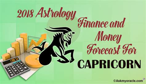 capricorn finance horoscope 2018 capricorn money wealth