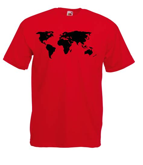Lp Kaos T Shirt Skateboard High Quality Lp map of the world detailed design graphic high quality 100