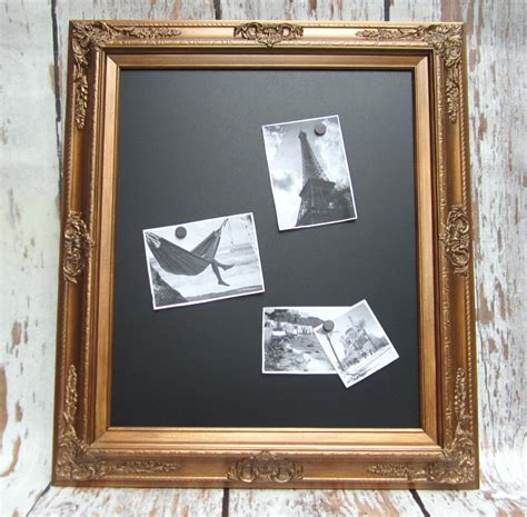 decorative framed chalkboards for home baroque wood framed