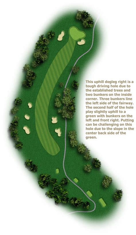 golf course layout design course layout alamance country club