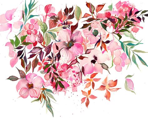 pink watercolor pattern my story is art leafy watercolor patterns and botticelli