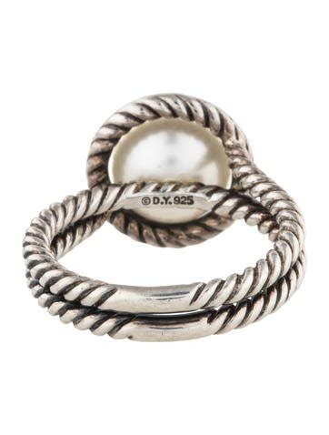 david yurman pearl cable ring rings dvy41704