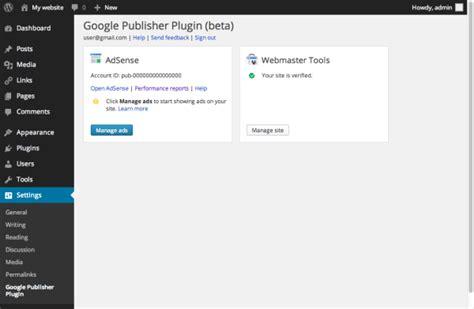 adsense plugin for wordpress google launches wordpress plugin for adsense and webmaster