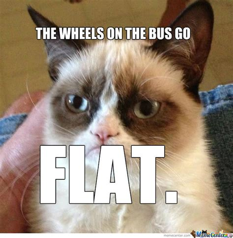 Flat Butt Meme - the weels on the bus go flat by charlottehavs meme center